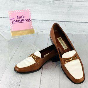 Etienne Aigner Women's NEW Brown &White Shoes Sz 8